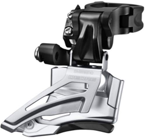 Shimano Deore M618-H double Front derailleur High Clamp Down Wing Dual Pull