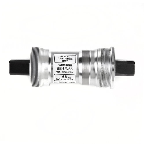 Shimano BB-UN55 bottom bracket British thread 68 - 107 mm