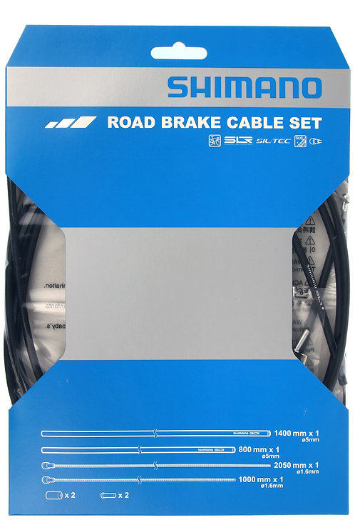 Shimano Road Brake Cable Set SIL-TEC coated
