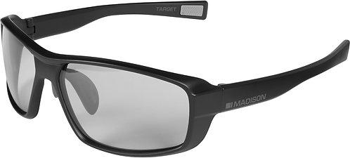 Madison Target Photochromic Glasses Matt Black Frame Photochromic Lens (cat 1