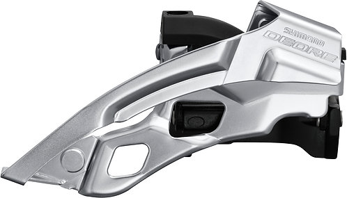 Shimano Deore T6000-L Triple Front Derailleur Top Swing Dual Pull 66-69