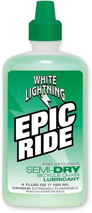 White Lightening Epic Ride 4 oz Squeeze Bottle 120 ml