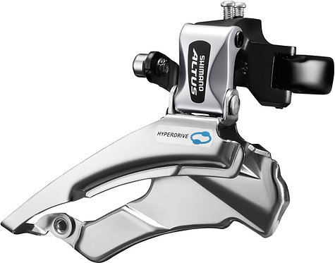 Shimano Altus Hybrid Front Derailleur Conventional swing Dual-Pull Multi Fit