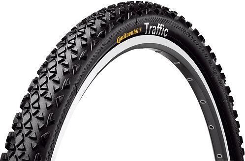 "Continental Traffic 24x 1.75"" Tyre Black Reflex"