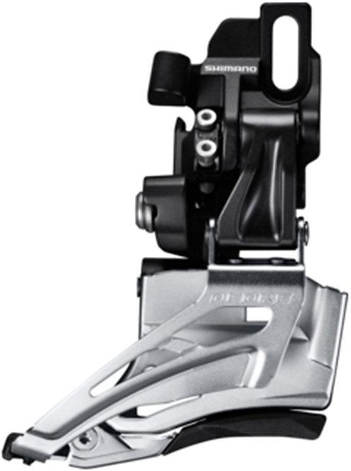 Shiman Deore M618-D Double Front Derailleur Direct Mount Down Sing Dual Pull