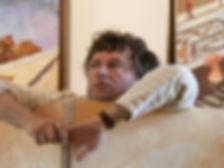 Christophe Demarez, peintre, Giverny, Impressionisme, Normandie, Vernon, Seine, Normandy, painter, tableau, painting, Claude Monet, galerie art, art gallery, exposition, exhibition, atelier, studio