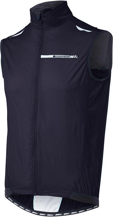 Madison Sportive Men's Windproof Gilet Black