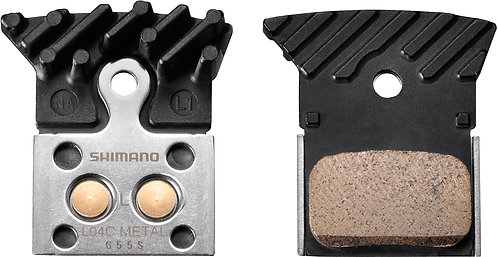 Shimano L04C Disc Brake Pads with Cooling Fins