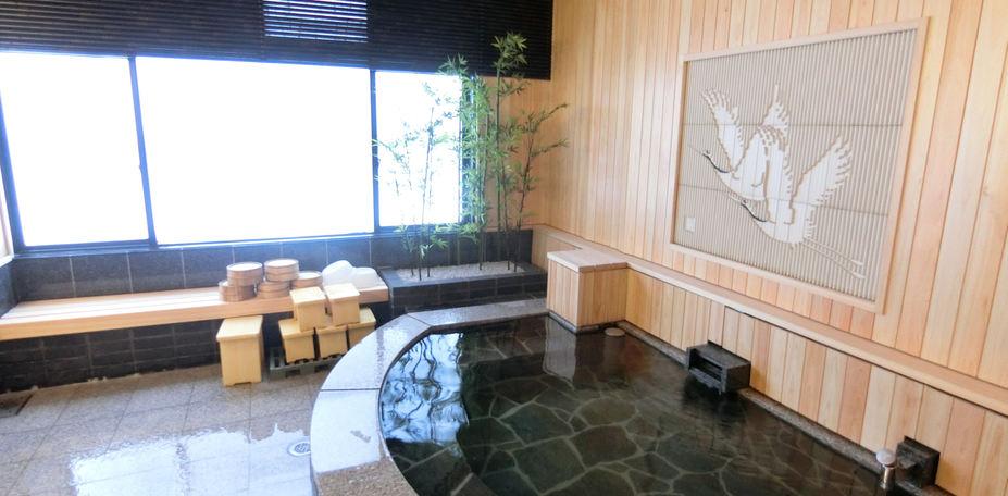 野上本館の温泉