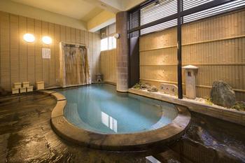 男性用温泉浴場(1F)