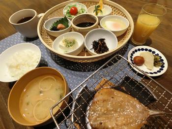 朝食(有料)