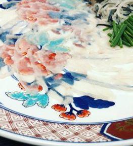 Blowfish Sashimi
