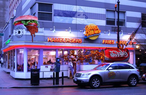 Photomontage Fast food