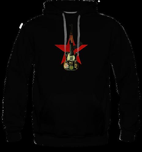 Combat Rock sweat-shirt capuche