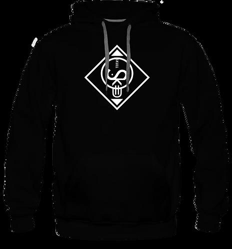 Skull sweat-shirt capuche