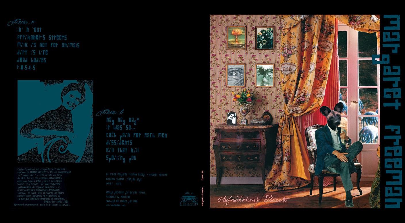 Pochette vinyle Margartet Freeman jpg.jp
