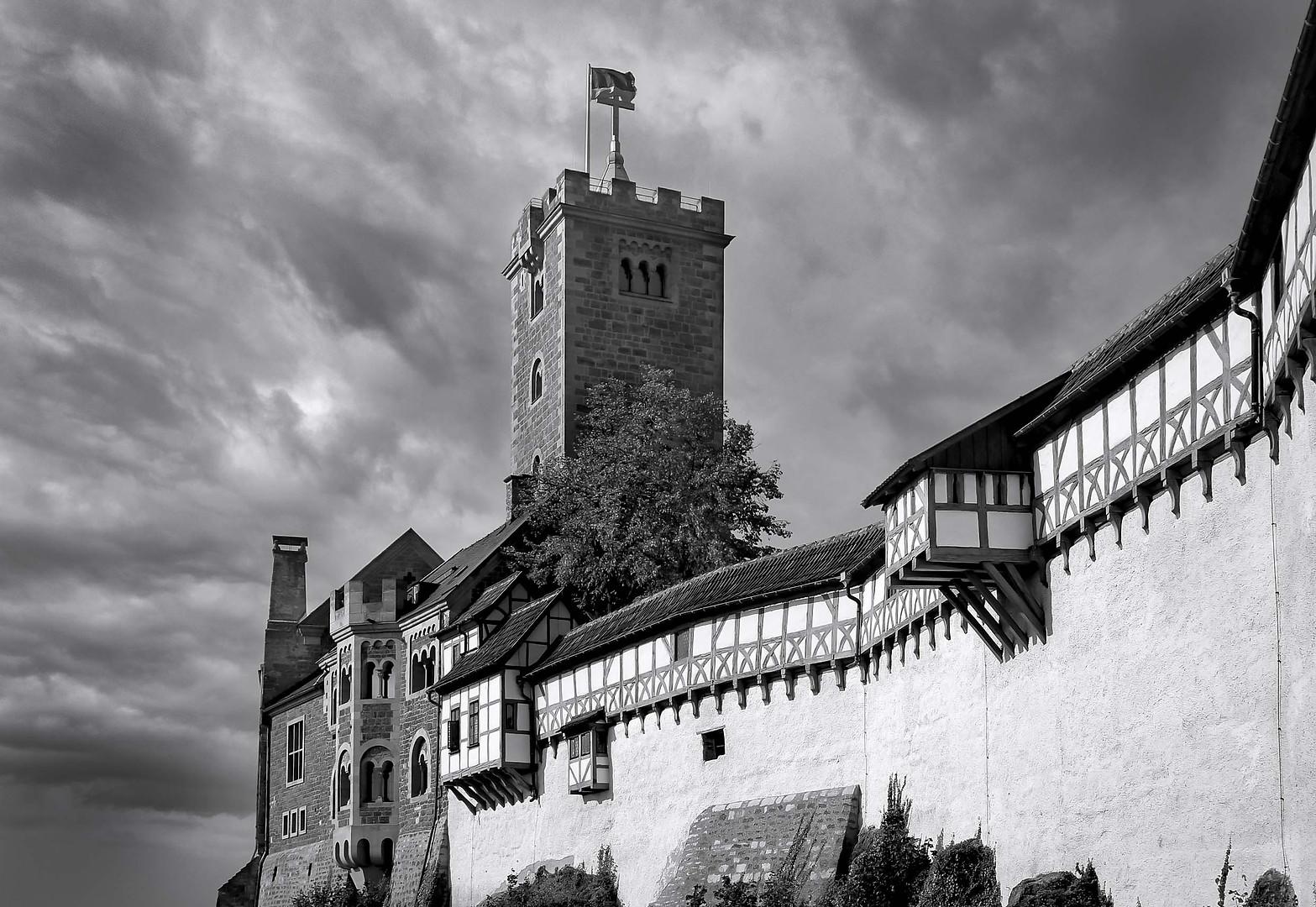 Wartburg - Architekturfotografie