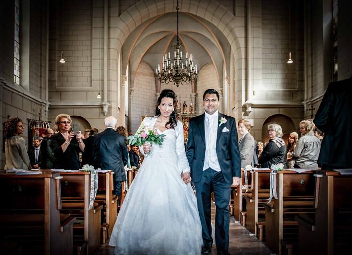 Kirchliche Trauung- Hochzeitsfotografie