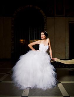 Hochzeitsfotografie, die Braut