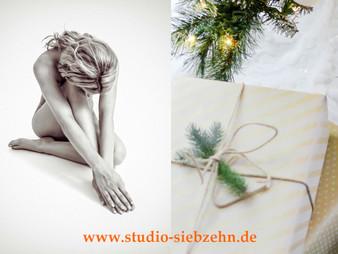 künstlerische Aktfotos als Weihnachtsgeschenk