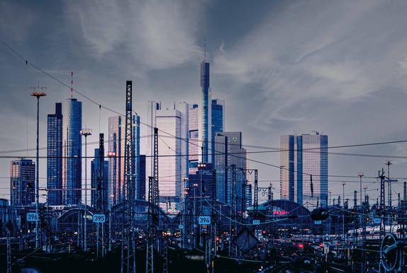 Frankfurt Skyline / Hbf