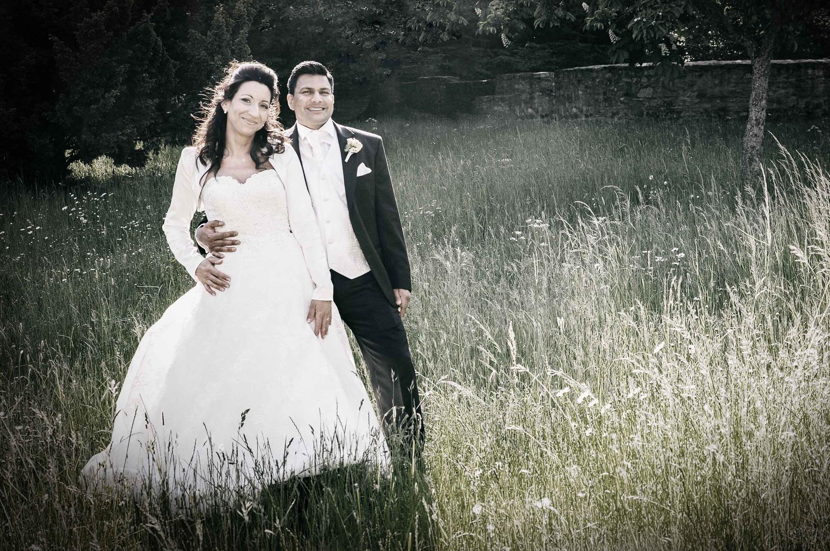 Brautpaar- Portrait