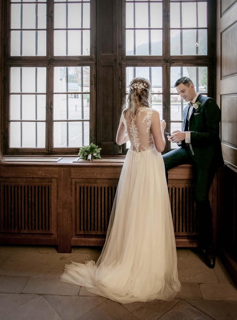 Brautpaar-Portrait - Hochzeitsfotografie