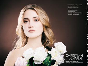 "Beauty Portrait Fotostrecke von mir im ""Lens Magazine for fine art photography"""