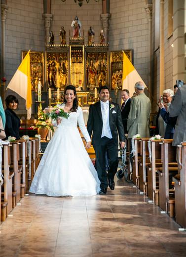 Kirchliche Trauung - Hochzeitsreportage