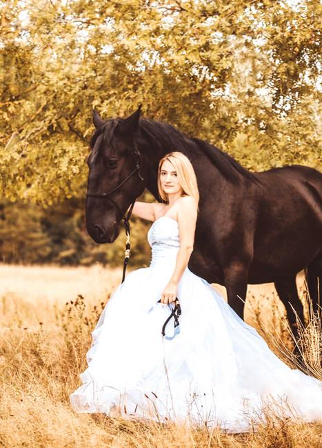 Mensch und Pferdfotografie