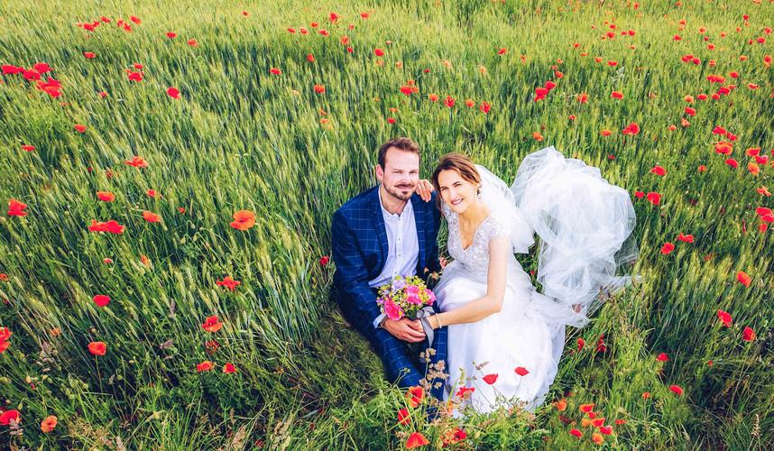 Brautpaar Piortrait