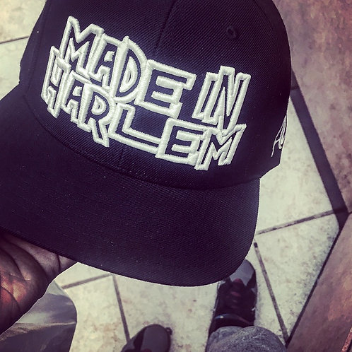 Made in Harlem Snapback (OG Black & White)