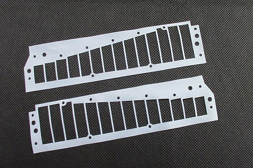 Hohner Chrometta 14 Reedplate Gaskets Set