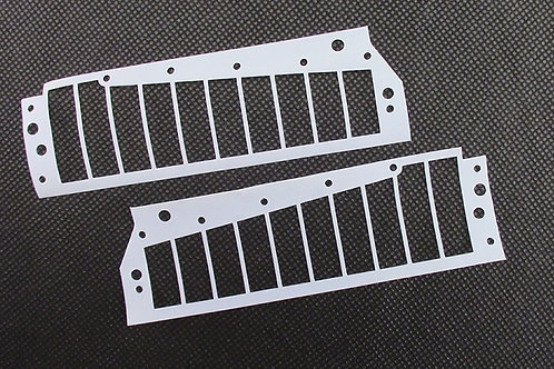 Hohner Chrometta 10 Reedplate Gaskets Set