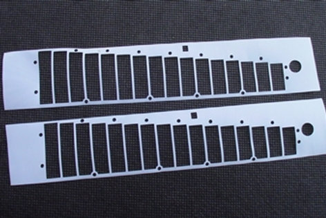Hohner CBH 2016 Reedplate Gaskets Set