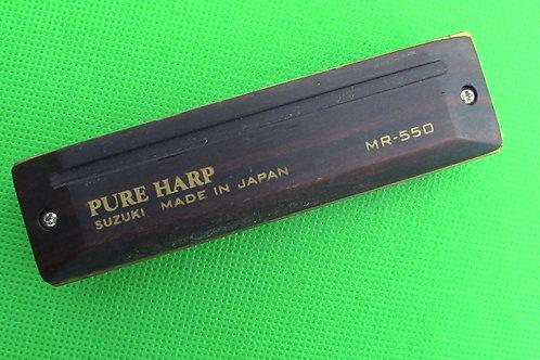 Suzuki Pure Harp Diatonic Harmonica,Key of Db (D Flat)