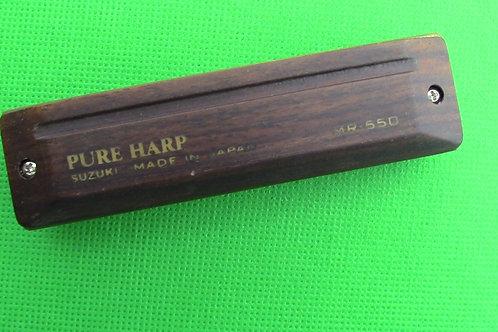 Suzuki Pure Harp Diatonic Harmonica,Key of Eb (E Flat)
