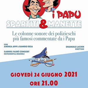 Spartiti & Manette - Roveredo in Piano