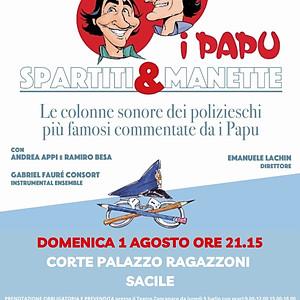 Spartiti & Manette - Teatro Zancanaro Sacile