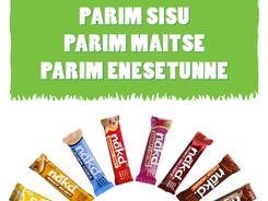 Nakd Wholefoods Eesti- ''Parim'' kampaania