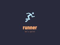 Näidislogo: runner 1