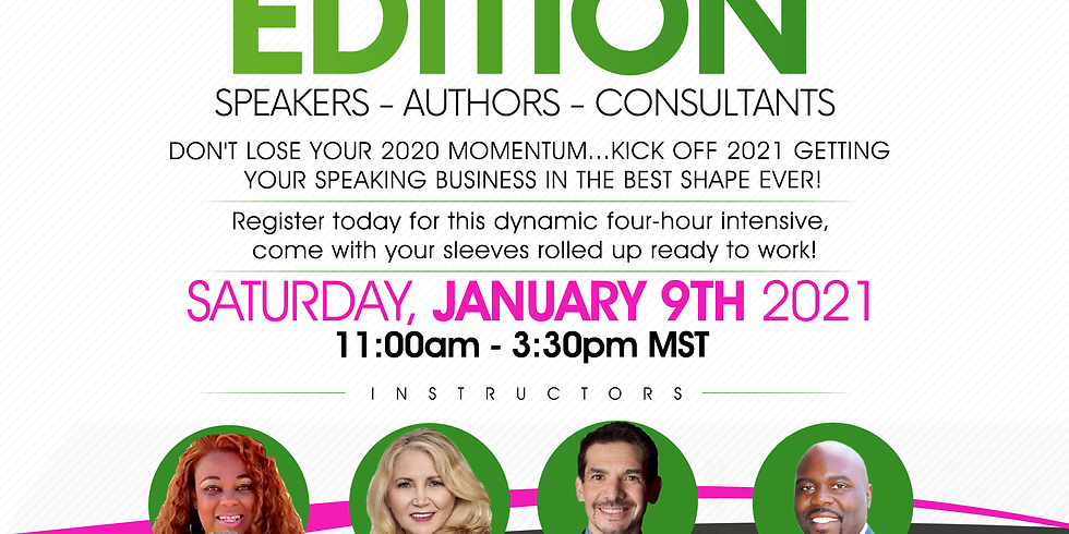 Grow Your Business Bootcamp - SPEAKERS EDITION