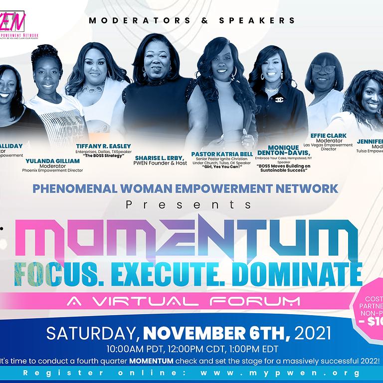 Momentum, A Virtual Forum