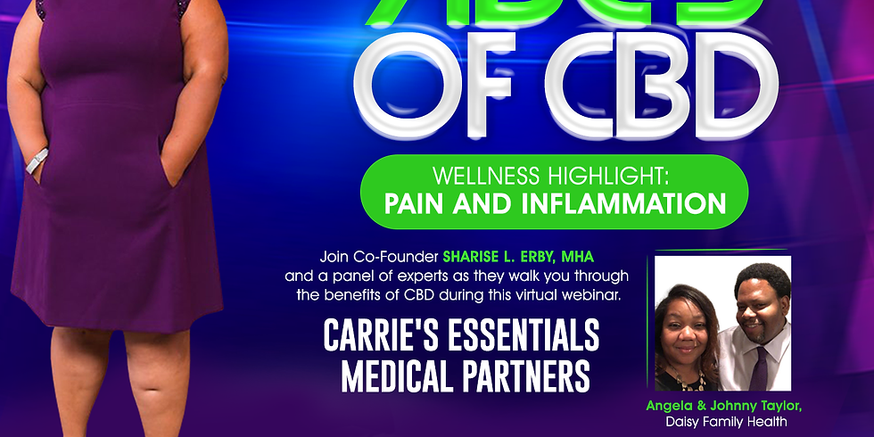 ABC's of CBD  - Pain and Inflammation