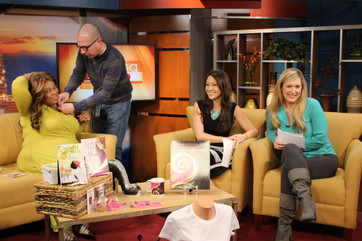 Sharise on set Morning Show in Tucson.jp