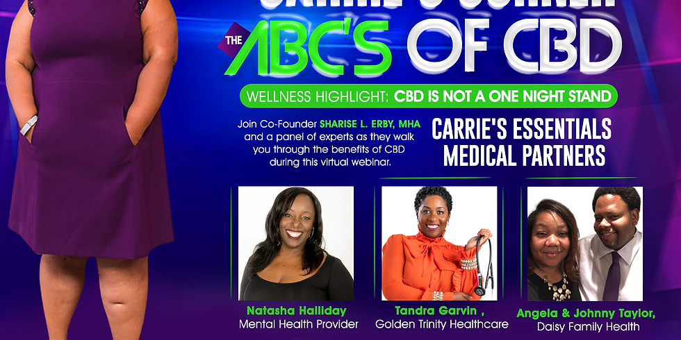 Carrie's Corner ABC's of CBD - Consistency and Dosage