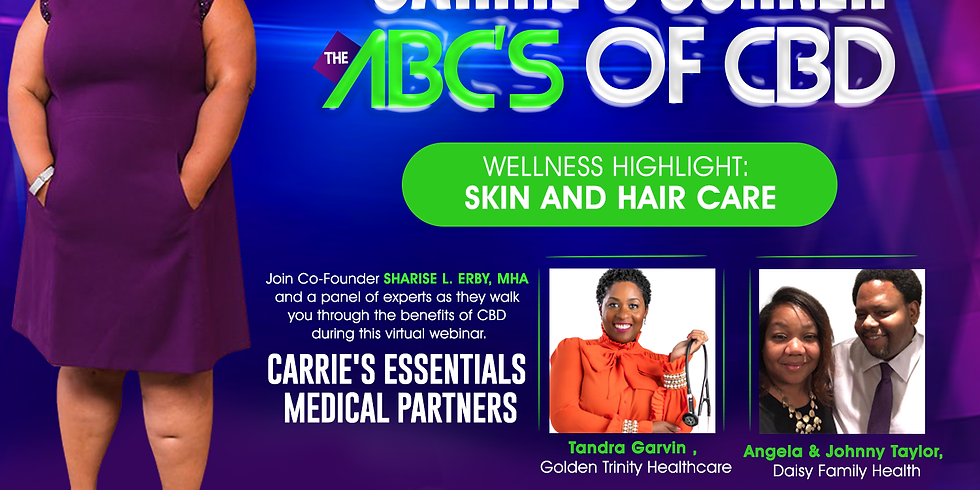 ABC's of CBD  - Skin and Hair Care