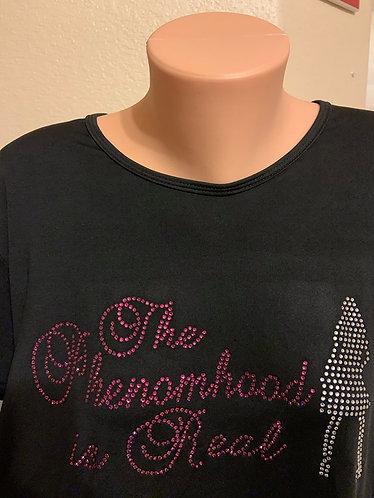 The Phenomhood Is Real Hi-Lo Tee Dress