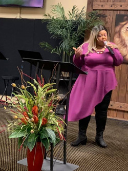 Sharise at Wholeness Event