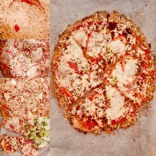 Heerlijke niet zo gewone pizza :-)